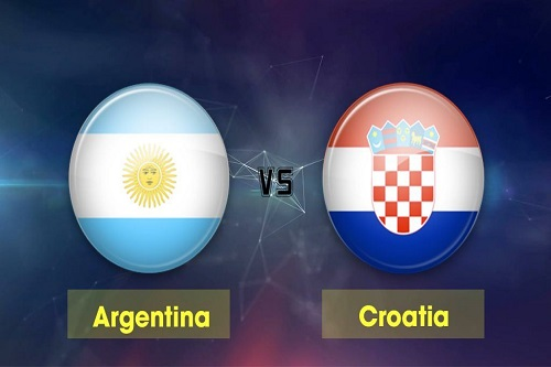 Argentinna vs Croatia