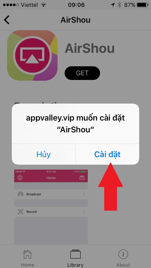 Cách quay màn hình iphone ios 9