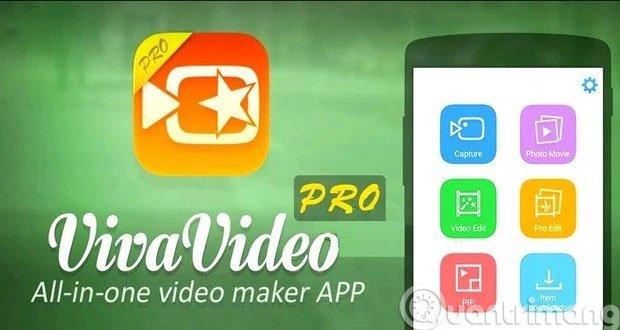 VivaVideo ứng dụng chỉnh sửa ảnh trênAndroid