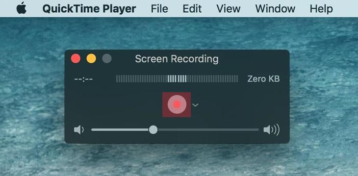 Cách quay màn hình Macbook