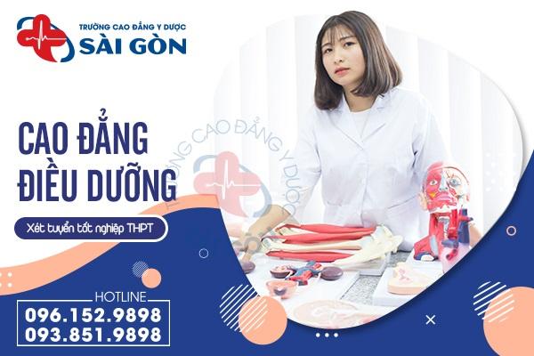 Trường Cao đẳng Y Dược Sài Gòn tuyển sinh ngành Điều dưỡng